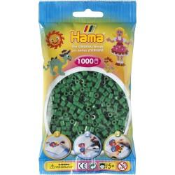 Hama - Midi - 20710 - Koraliki Zielone - Zestaw Uzupełniający 1000 szt