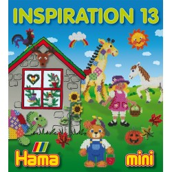 Hama - 39913 - Książeczka z Wzorami do Koralików Mini - Inspiracje 13