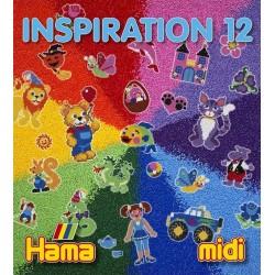Hama - 39912 - Książeczka z Wzorami do Koralików Midi - Inspiracje 12