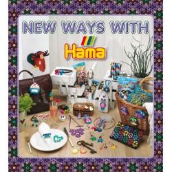 """Hama - 39915 - Książeczka z Wzorami do Koralików Mini - Inspiracje 15 """"New Ways With Hama"""""""