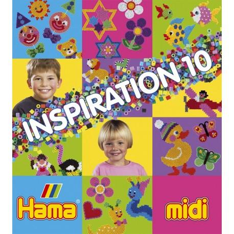 Hama - 39910 - Książeczka z Wzorami do Koralików Midi - Inspiracje 10
