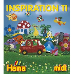 Hama - 39911 - Książeczka z Wzorami do Koralików Midi - Inspiracje 11