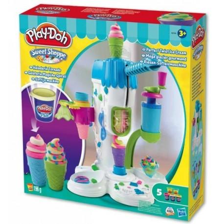 Ciastolina Play-Doh - A2104 - Automagiczna Lodziarnia - Idealnie Zakręcone Lody