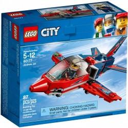 LEGO CITY 60177 Odrzutowiec Pokazowy NOWOŚĆ 2018