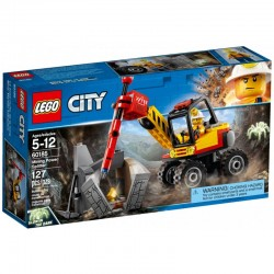 LEGO CITY 60185 Kruszarka Górnicza