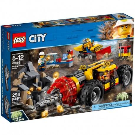 LEGO CITY 60186 Ciężkie Wiertło Górnicze NOWOŚĆ 2018