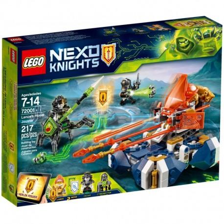 LEGO NEXO KNIGHTS 72001 Bojowy Poduszkowiec Lancea - NOWOŚĆ 2018