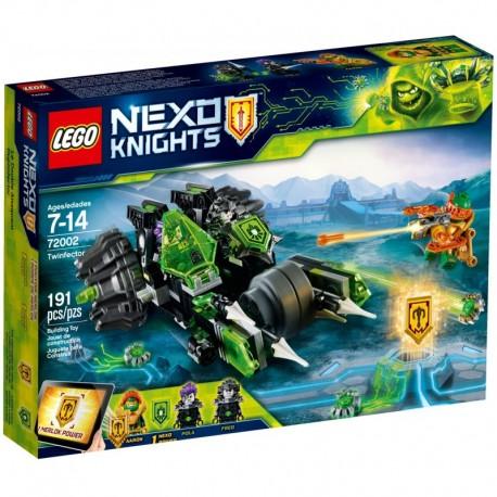 LEGO NEXO KNIGHTS 72002 Podwójny Infektor - NOWOŚĆ 2018