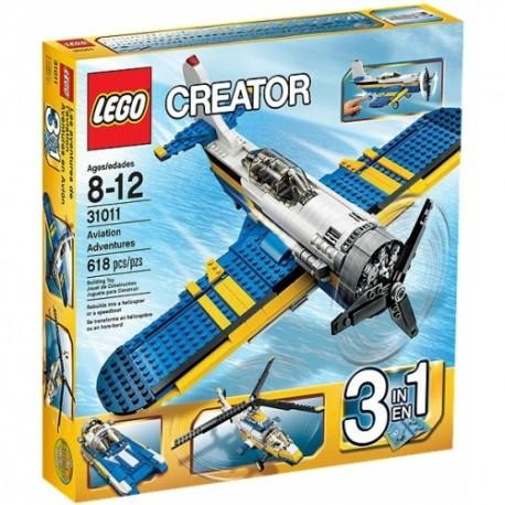 LEGO CREATOR 31011 Lotnicze Przygody