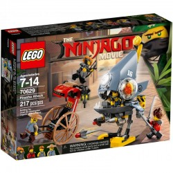 LEGO NINJAGO 70629 Atak Piranii - NOWOŚĆ 2018