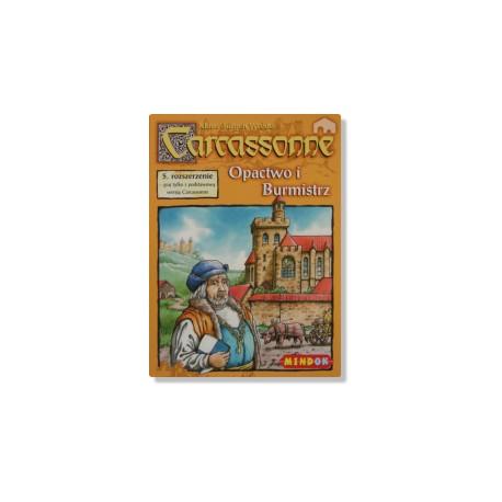 Mindok - 65932 - Gra - Carcassonne: Dodatek 5. Opactwo i Burmistrz