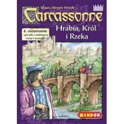 Mindok - 65976 - Gra - Carcassonne: dodatek 6. Hrabia, Król i Rzeka