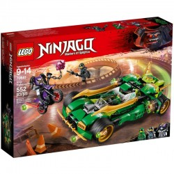 LEGO NINJAGO 70641 Nocna Zjawa Ninja - NOWOŚĆ 2018