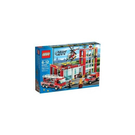 LEGO CITY 60004 Remiza Strażacka