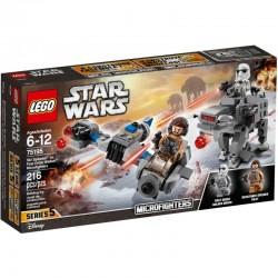 LEGO STAR WARS 75195 Ski Speeder Kontra Maszyna Krocząca Najwyższego Porządku NOWOŚĆ 2018