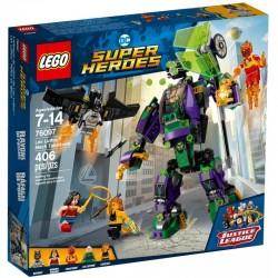 LEGO SUPER HEROES 76097 Starcie z Mechem Lexa Luthora - NOWOŚĆ 2018