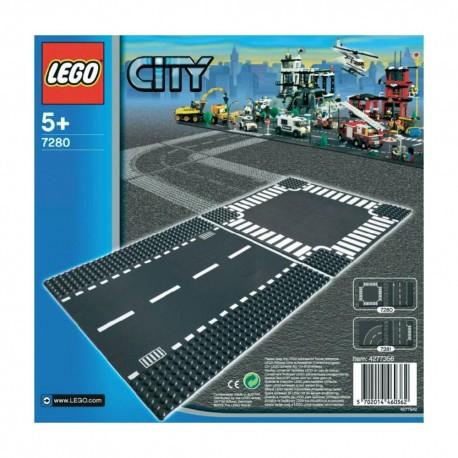 LEGO CITY 7280 Płytka z Drogą i Skrzyżowaniem
