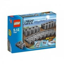 LEGO CITY 7499 Tory Proste i Elastyczne