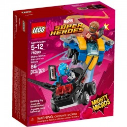 LEGO SUPER HEROES 76090 Star-Lord Kontra Nebula - NOWOŚĆ 2018