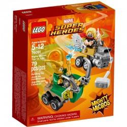 LEGO SUPER HEROES 76091 Thor Kontra Loki - NOWOŚĆ 2018