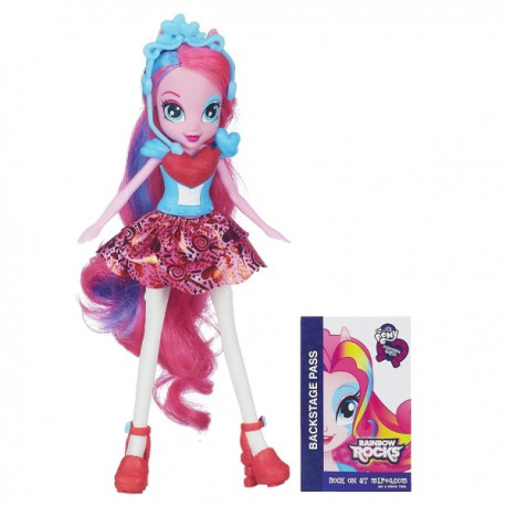 Hasbro - A6773 - My Little Pony - Equestria Girls Rainbow Rocks - Pinkie Pie