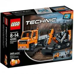 LEGO TECHNIC 42060 Ekipa Robót Drogowy NOWOŚĆ 2017