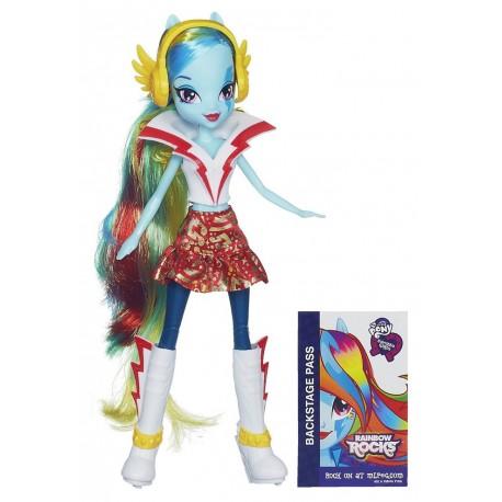 Hasbro - A6775 - My Little Pony - Equestria Girls Rainbow Rocks - Rainbow Dash