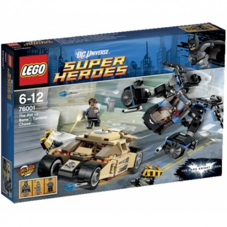 LEGO SUPER HEROES 76001 Batman vs Bane