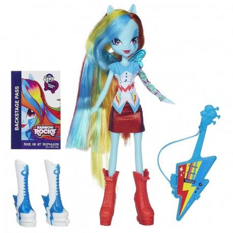Hasbro - A3995 - A7250 - My Little Pony - Equestria Girls Rainbow Rocks - Rainbow Dash