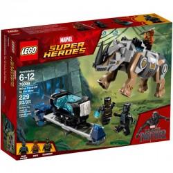 LEGO SUPER HEROES 76099 Pojedynek z Nosorożcem w Pobliżu Kopalni- NOWOŚĆ 2018
