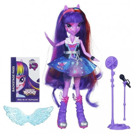Hasbro - A6683- My Little Pony - Equestria Girls Rainbow Rocks - Twilight Sparkle