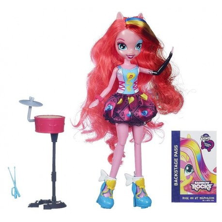 Hasbro - A6781 - My Little Pony - Equestria Girls Rainbow Rocks - Pinkie Pie