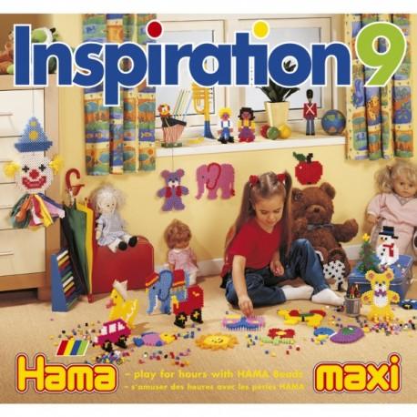 Hama - 39909 - Książeczka z Wzorami do Koralików Maxi - Inspiracje 9