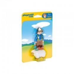 PLAYMOBIL 6974 Playmobil 1.2.3 - OWCZARZ Z OWIECZKĄ