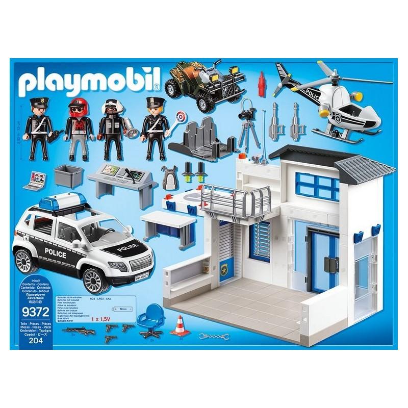 Playmobil 9372 city action posterunek policji - Caserne de police playmobil ...