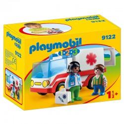 PLAYMOBIL 9122 Playmobil 1.2.3 - KARETKA