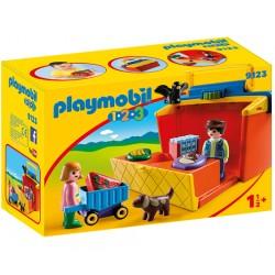 PLAYMOBIL 9123 Playmobil 1.2.3 - PRZENOŚNY STRAGAN