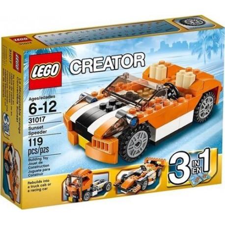 LEGO CREATOR 31017 Samochód Śmigacz