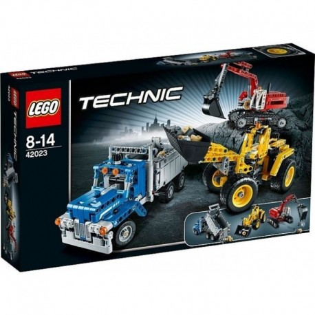 LEGO TECHNIC 42023 Maszyny Budowlane