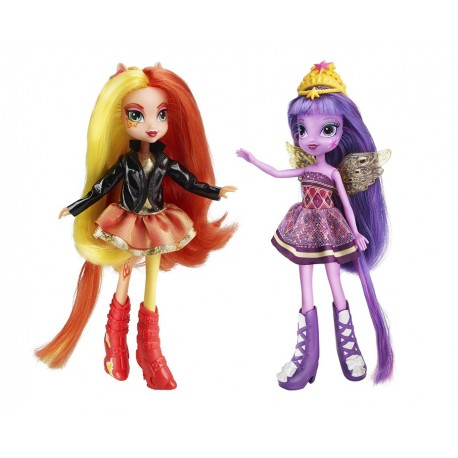 Hasbro - A3997 - My Little Pony - Equestria Girls - Twilight Sparkle i Sunset Shimmer