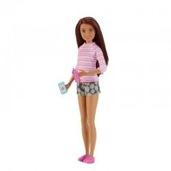 MATTEL FHY89 FHY92 - Lalka Barbie Skipper - OPIEKUNKA DZIECIĘCA SZATYNKA