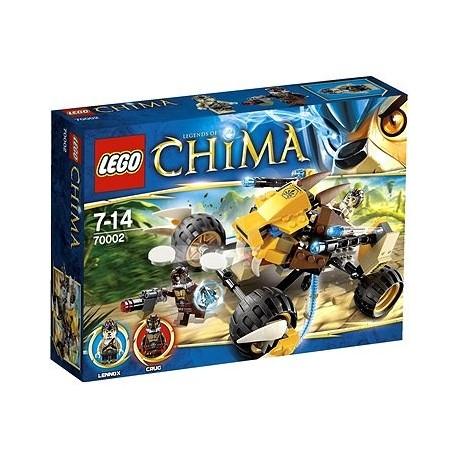 LEGO CHIMA 70002 Lwi Atak Lennoxa