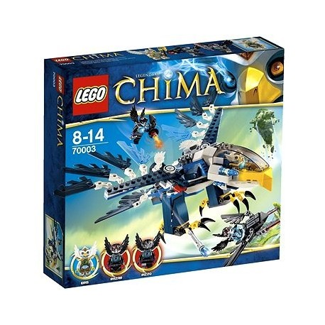 LEGO CHIMA 70003 Pojazd Orzeł Erisa