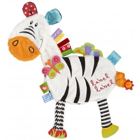 Label Label - FR1205 - Przytulanka z Metkami - Friends - Zebra