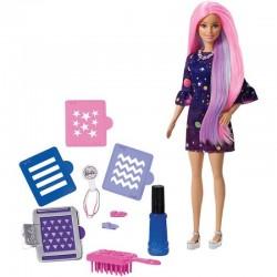 MATTEL FHW99 FHX00 - Lalka Barbie - KOLOROWA NIESPODZIANKA
