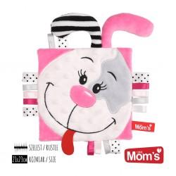 HENCZ TOYS 991 - MOM'S CARE - Przytulanka - Szeleścik dla Niemowlaków - PINKY