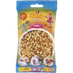 Hama - Midi - 20761 - Koraliki Złote - Zestaw Uzupełniający 1000 szt.