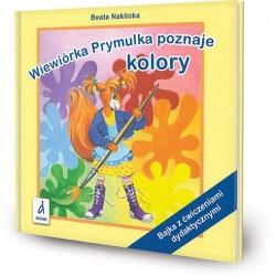 DREAMS 94134 - Bajka z Ćwiczeniami Dydaktycznymi - Beata Naklicka WIEWIÓRKA PRYMULKA POZNAJE KOLORY