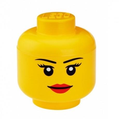 LEGO Pojemnik Głowa Mała S Dziewczynka