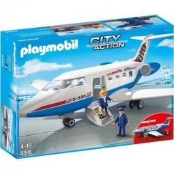 PLAYMOBIL 5395 CITY ACTION Samolot pasażerski